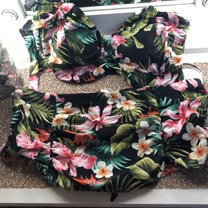 Other - NEVER worn floral swim set